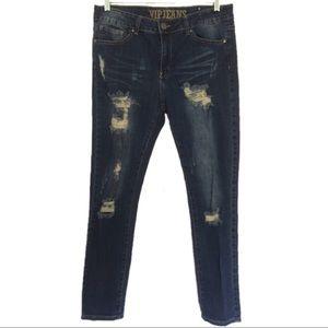 5/$25 VIP Jeans Destroyed Skinny